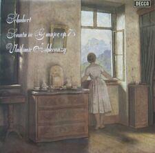 VLADIMIR ASHKENAZY - SCHUBERT - SONATA IN G MAJOR, OP.78 -  LP