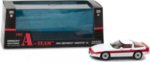 GREENLIGHT 86517 Chevrolet Corvette C4 84 The A-Team L'agence Tous Risques 1/43