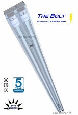 NEW 4 foot 5920 Lumens 44 Watt LED Work/ Storage Shed Light - Bright Garage Lamp