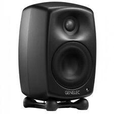 GENELEC G TWO diffusore monitor attivo amplificato home studio (BLACK)