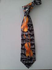 Music Violin Concert Orchesta Black Neck Tie Necktie Event Wedding Graduation