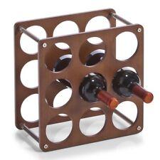 Flaschenregal 9 Flaschen Weinregal Weinflaschenhalter Weinflaschenständer
