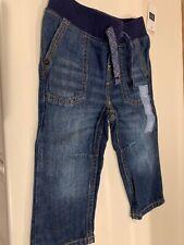 NWT Baby Gap Boy Size 6-12 Months Elastic Waistband Jeans
