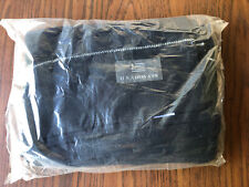 US Airways USAir Factory Sealed Navy Blue Blanket Sewn Flag Logo Never Used