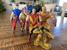 X-Men Power Rangers Robinhood Lot of 7 Action Figures 90s Toy Biz Kenner 004