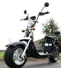Coco Bike Fat E-Scooter Mit Straßenzulassung Bis Zu 48 Km/H auf Alu Felgen 24AH