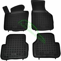 Gummimatten Fußmatten mit Rand für VW Tiguan I ab Baujahr 2007 2015