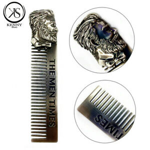 Beard And Hair Shaping High Quality Stainless Steel Comb Trim Tool For Men