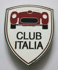 CLUB ITALIA CAR GRILL BADGE EMBLEM LOGOS METAL ENAMLED CAR BADGE GRILL BADGE
