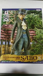 "One piece the Sabo MASTER Stars BANPRESTO PVC Action Figure 27 CM 11 "" New - Am"
