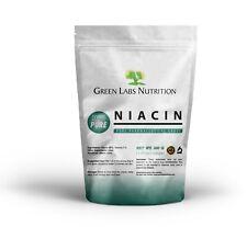 NIACIN Nicotinic Acid Pure Powder Vitamin B3 Cholesterol Heart