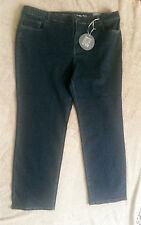 NWT Woman's Avenue Denim Deluxe Stretch Straight Leg Jeans SZ 24 Average Plus