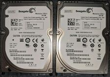 "2 Seagate Momentus 7200.4 160GB Internal 7200RPM 2.5"" (ST9160412ASG) HDD"