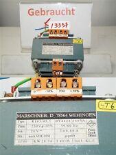 marschner K105/45,5 BV4424 160VA TRAFO transformateur seconde 24v I=6, 66 A