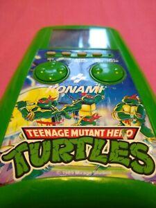 Konami Teenage Mutant Hero/Ninja Turtles Vintage LCD Handheld Game-Fully Working