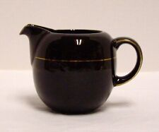 Mikasa Cappuccino Creamer Transitions NG001 Brown With Gold Trim 12 Ounces Japan