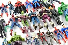 MARVEL & DC COMICS SELECTION OF VARIOUS FIGURES - SPIDER-MAN, BATMAN, HULK VGC!
