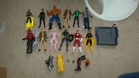 ACTION FIGURE LOT Marvel Legends DC Direct Parallax Dormammu Arsenal Batgirl