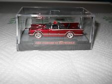 HOTWHEELS 2017 RALPHS CUSTOMS 66 TV  BATMOBILE RED CHROME RIMS 1/10 REDLINES