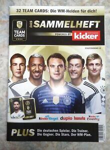 Sammelalbum FUSSBALL WM 2018 Ferrero, leer, SAMMELHEFT
