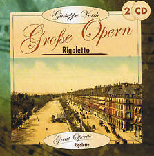 Giuseppe Verdi Rigoletto Great Operas 2 CD Box NIP