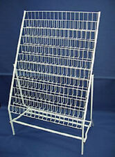 XBOX WII PS2 PS3 NINTENDO GAME DVD POINT OF SALE WHITE WIRE DISPLAY STAND Rack