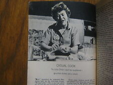 8/22/1964 TV Guide(JULIA CHILD/PHYLLIS NEWMAN/RUDY VALLEE/THE BAILEYS OF BALBOA)