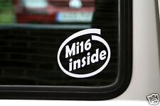 2x Mi16 à l'intérieur autocollants. pour peugeot 405 16v.205 gti, 309