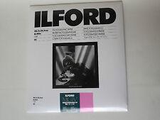 Ilford mgiv RC DELUXE 8x10 LUCIDA 25 camera oscura carta