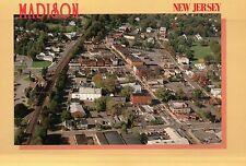 Madison, New Jersey, Main Street, Train Station, Drew University, NJ -- Postcard