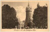 FRANKFURT Main Hessen ~1920/30 Eschenheim Partie Eschenheimer Turm Verl. Klement