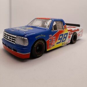 Action 1:24 Bank - NASCAR Butch Miller - #98 - Ford Pickup Raybestos