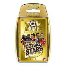 Top TRUMPS World Football Stars Board Game