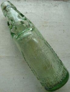 SOUTH WESTERN BOURNEMOUTH & WIMBORNE 10oz Dobson patent Codd bottle C 1890s