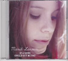 Marit Larsen-If A song Could Get Me You Promo cd single