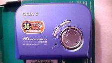 VINTAGE SONY WALKMAN PERSONAL CASSETTE PLAYER WM-EX422
