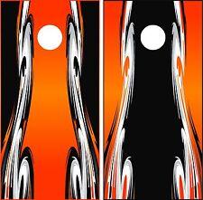 Sidewinder cornhole board wrap decals sticker vinyl wraps