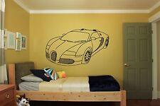 Wall Room Decor Art Vinyl Sticker Mural Decal Speed Car Boy Supercar Auto FI020