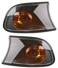 2 CLIGNOTANTS AVANT ORANGE BMW SERIE 3 E46 COMPACT 320 td 06/2001-12/2004