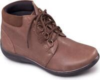 Padders JOURNEY Ladies Waterproof Leather EEE/EEEE Wide Fit Ankle Boots Taupe