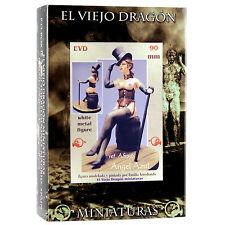 Angel Azul 90mm 1 Figur Pin up El Viejo Dragon Metall Neu AS936