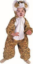 Tiger Kostüm für Kinder beige Animal Löwe Katze Zoo Kleid Karneval Fasching