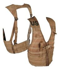 US Military USMC Coyote Tactical Molle Fighting Load Carrier Vest FLC Vest