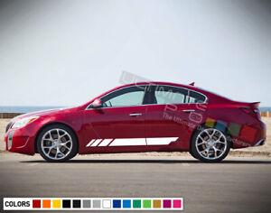 Stickers Decals for Buick Regal Side door 2013 2020 2017 Back Light rims Window
