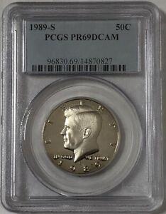 1989 S Kennedy Clad Half Dollar PCGS PR69DCAM