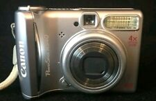Canon Power Shot A540 Silver 6.0MP - Digital Camera