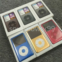 Apple iPod Classic 7th generation Gold/Red 1TB Flash Memory Special U2 Back