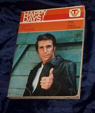 HAPPY DAYS  Caro Fonzie 1978 illustrato  vocabolarietto TV ed. La Sorgente Libro