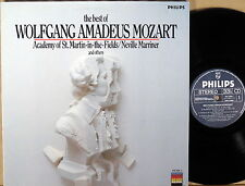 PHILIPS Best of WA Mozart GRUMIAUX BRENDEL Marriner 412 244-1