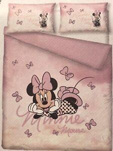 Disney Minnie Mouse Ombré 100% Cotton Single or Double or King Duvet Cover Sets